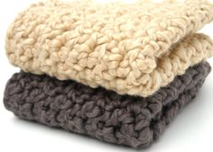 crochet wascloths