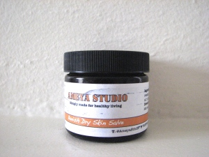 Our 'Banish Dry Skin Salve'