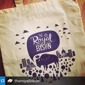 jason blower royal bison loot bag design